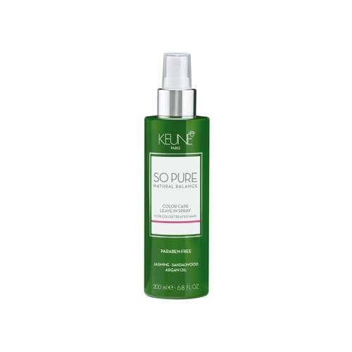Keune So Pure Color Care nenuplaunamas dažytų plaukų kondicionierius (200 ml)