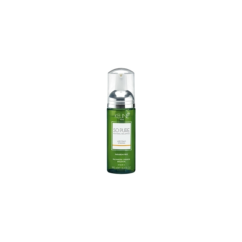 Keune So Pure Air Foam stiprio fiksacijos putos (185 ml)