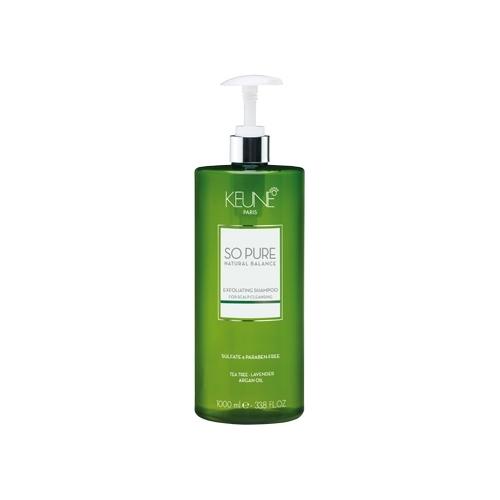 Keune So Pure Exfoliating šampūnas nuo pleiskanų (1000 ml)