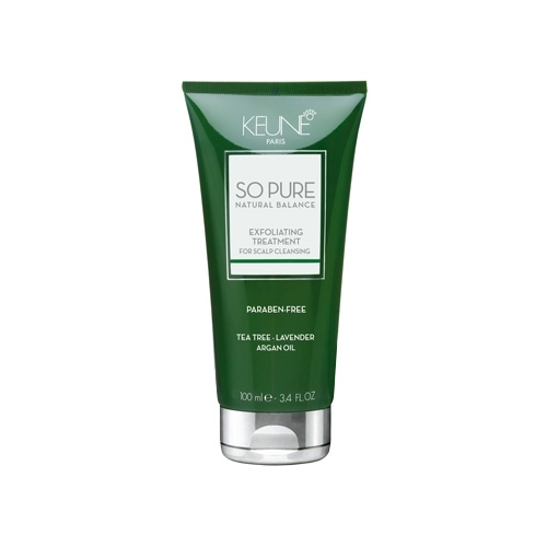 Keune So Pure Exfoliating pilinguojanti galvos odos kaukė nuo pleiskanų (100 ml)
