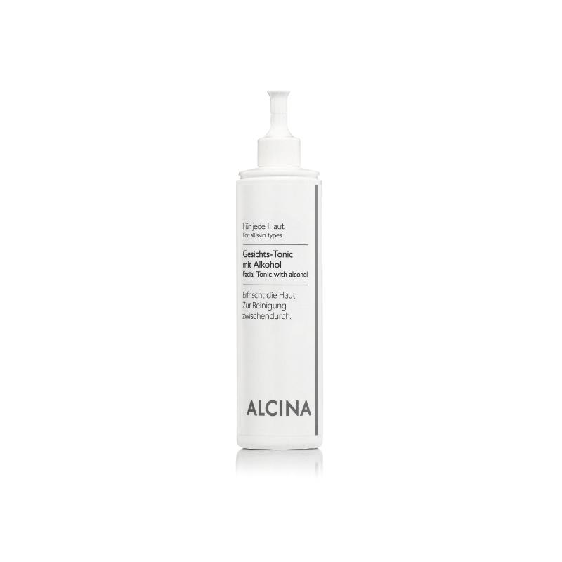 Alcina Gesichts-Tonic Mit Alkohol veido losjonas su alkoholiu nešvariai odai (500 ml)