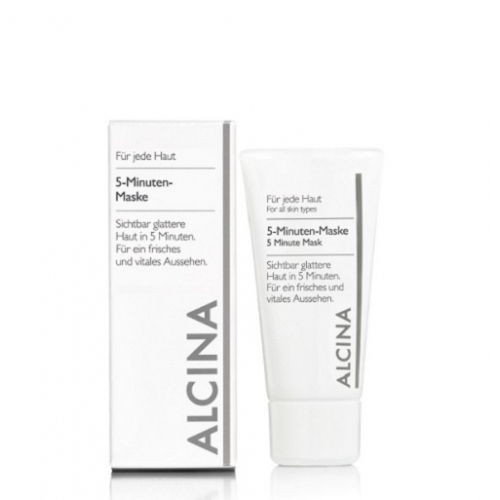 Alcina 5-Minuten Maske gaivinanti 5 minučių veido kaukė (50 ml)