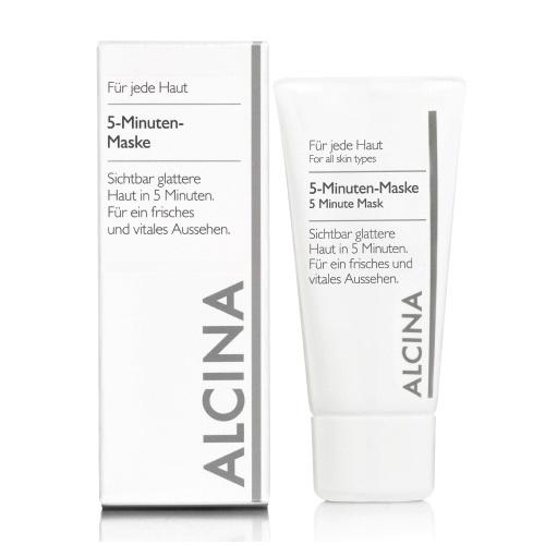 Alcina 5-Minuten Maske gaivinanti 5 minučių veido kaukė (250 ml)