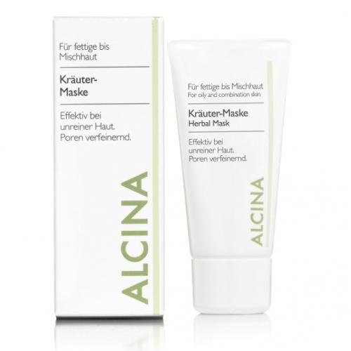 Alcina Kräuter–Maske žolinė veido kaukė nešvariai odai (250 ml)