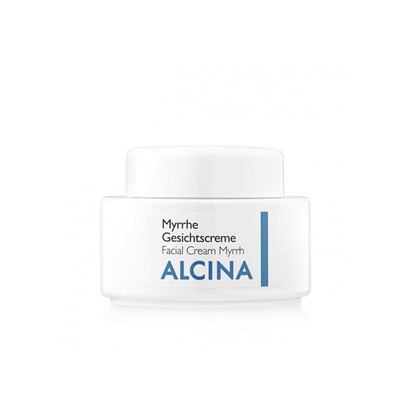 Alcina Myrrhe Gesichtscreme veido kremas ypač sausai odai (100 ml)