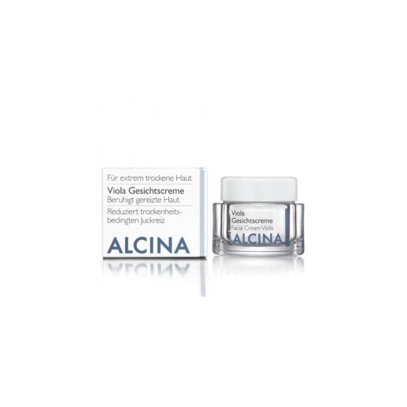 Alcina Viola Gesichtscreme veido kremas sausai, sudirgusiai odai (50 ml)