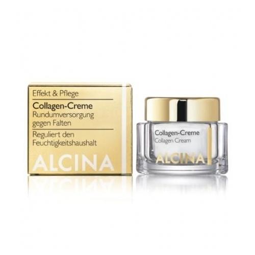 Alcina Collagen-Creme dieninis veido kremas su kolagenu (250 ml)