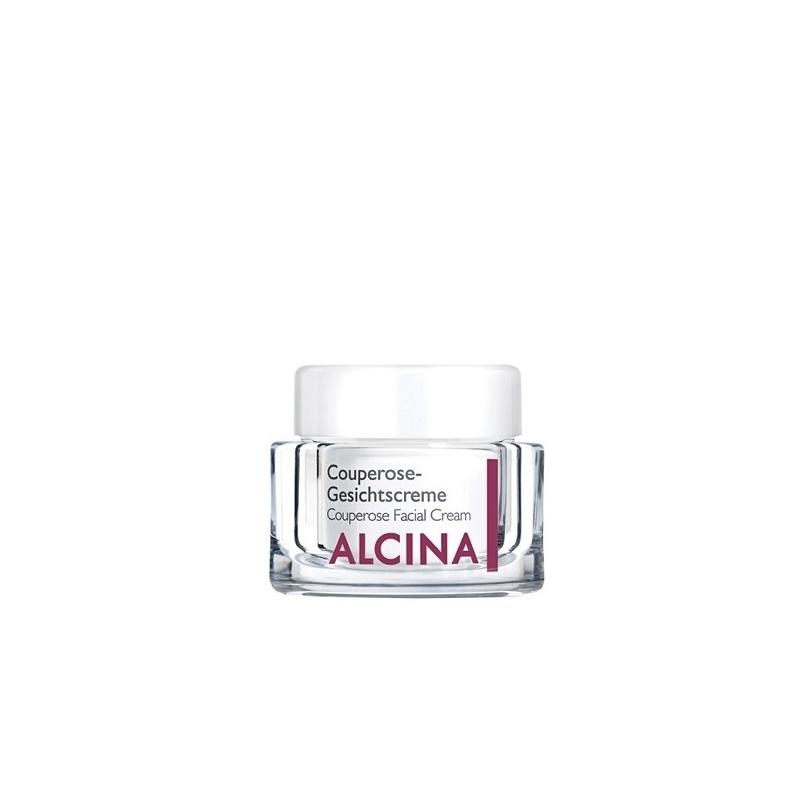 Alcina Couperose Gesichtscreme veido kremas kuperozės pažeistai odai (50 ml)