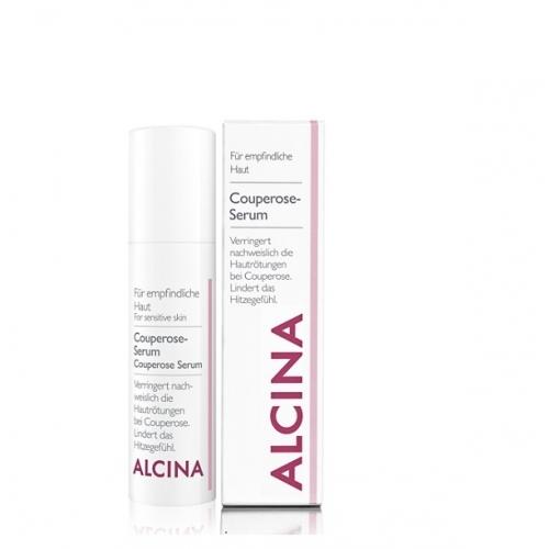 Alcina Couperose Serum serumas kuperozinės pažeistai odai (30 ml)