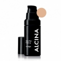 Alcina Silky Matt Make-Up Ultralight matinė kreminė pudra (30 ml)