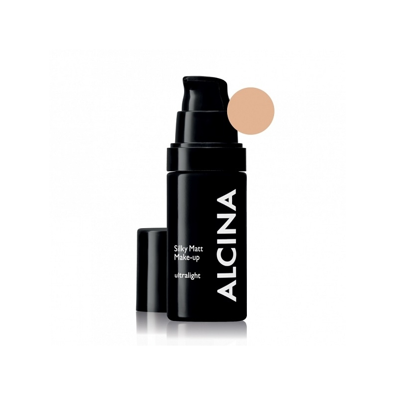 Alcina Silky Matt Make-Up Ultralight matinė kreminė pudra (30 ml)