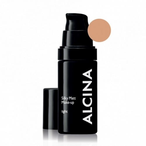 Alcina Silky Matt Make-Up Light matinė kreminė pudra (30 ml)
