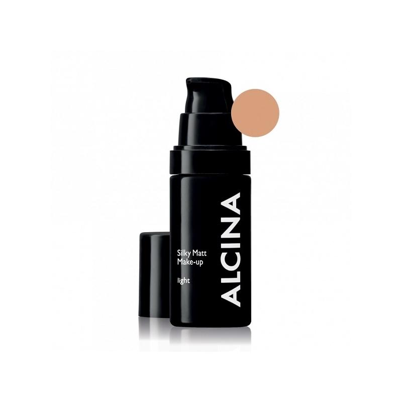 Alcina Silky Matt Make-Up Light matinė kreminė pudra (30 ml)