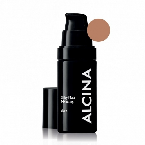 Alcina Silky Matt Make-Up Dark matinė kreminė pudra (30 ml)