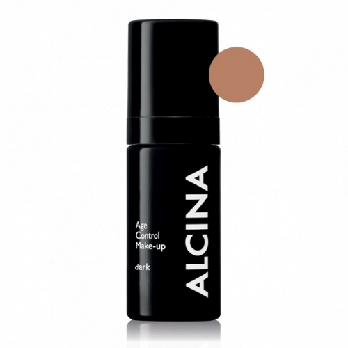 Alcina Age Control Make-Up Dark stangrinanti kreminė pudra (30 ml)