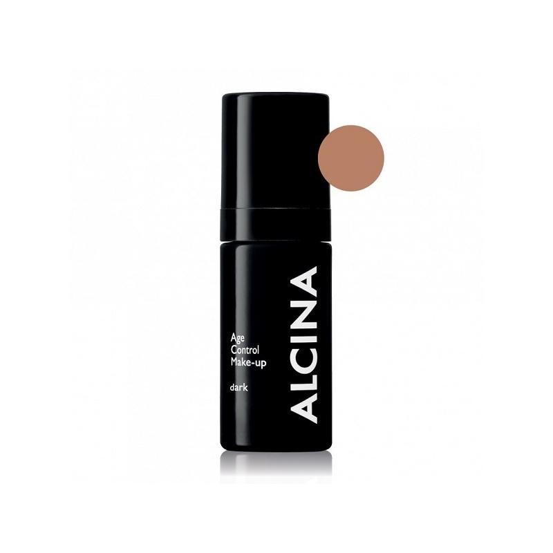 Alcina Age Control Make-Up Dark stangrinanti kreminė pudra (30 ml)