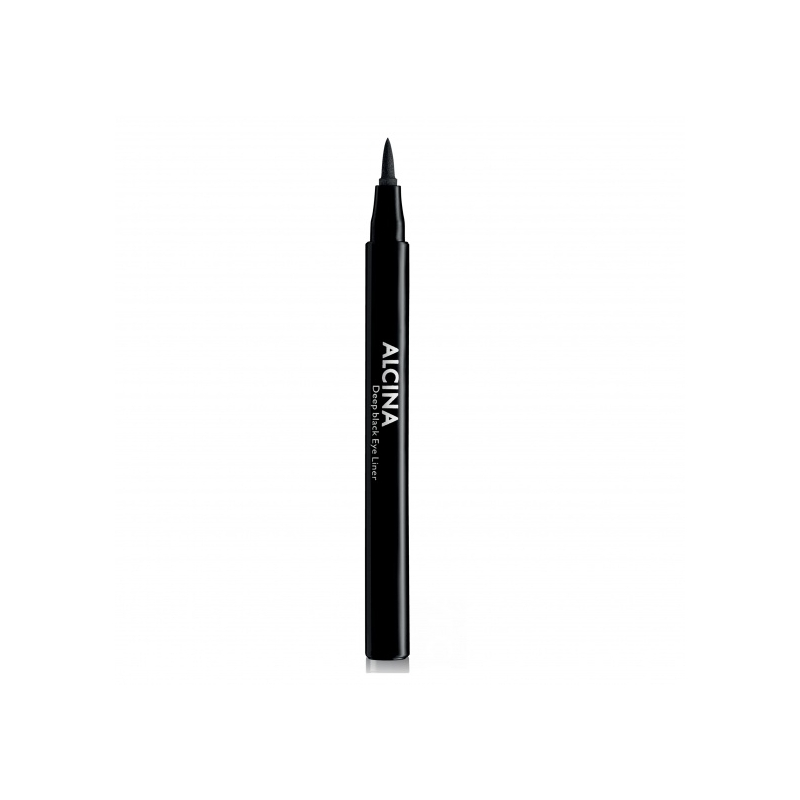 Alcina Deep Black Eye Liner ryškiai juodas akių kontūro pieštukas (vnt)