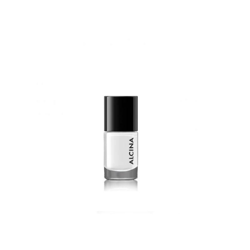 Alcina Ultimate Nail Colour Natural White 050 ilgai išliekantis nagų lakas