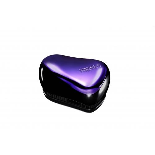 Tangle Teezer Compact Purple Dazzle plaukų šepetys