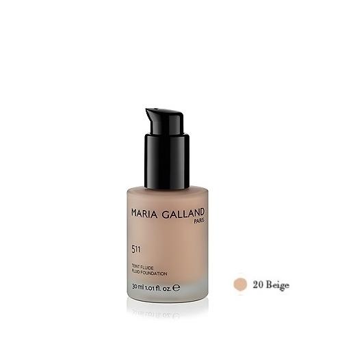 Maria Galland Beige matinio efekto kreminė pudra (30 ml)