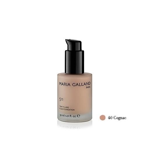 51140 Maria Galland Teint Fluide Cognac matinio efekto kreminė pudra (30 ml)