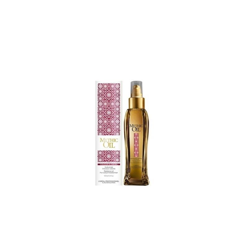 L'oreal Professionnel Mythic Oil Colour Glow maitinamasis aliejus dažytų plaukų žvilgesiui (125 ml)