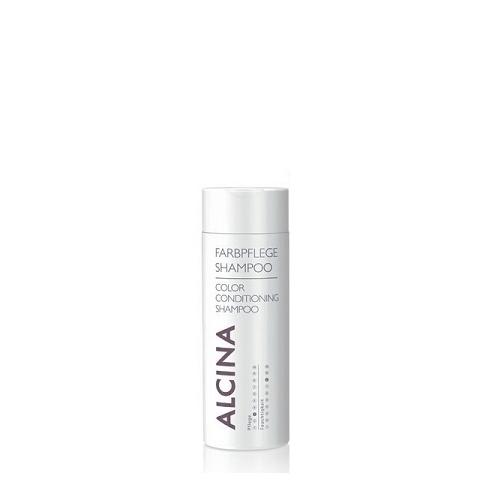 Alcina Farbpflege- Shampoo dažytų plaukų priežiūros šampūnas (50 ml)