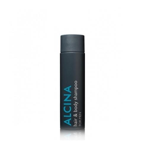 Alcina For Men Hair & Body Shampoo vyriškas plaukų ir kūno šampūnas (250 ml)