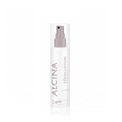 Alcina Fohn Lotion apimties suteikiantis apsauginis plaukų fenavimo losjonas (125 ml)