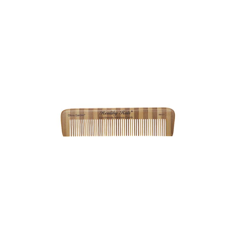 Olivia Garden Ekologiškos bambukinės šukos comb 1