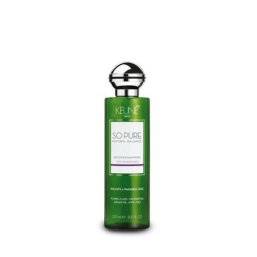 Keune So Pure Recover atkuriamasis pažeistų plaukų šampūnas (250 ml)