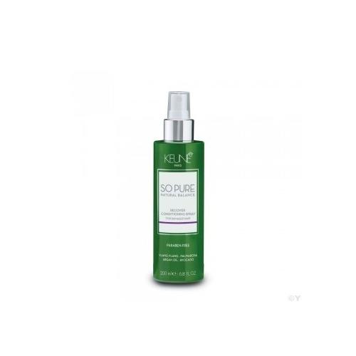 Keune So Pure Recover atkuriamasis purškiamas pažeistų plaukų kondicionierius (200 ml)