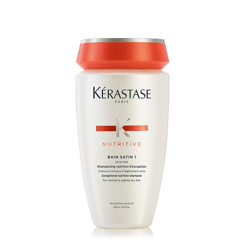 Kerastase Nutritive Bain Satin 1 Irisome maitinamasis šampūnas (250 ml)