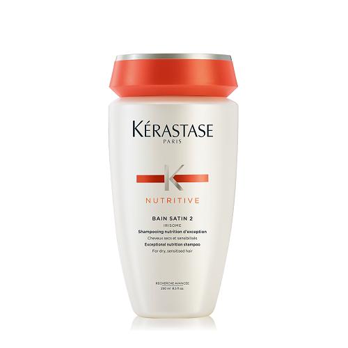 Kerastase Nutritive Bain Satin 2 Irisome maitinamasis šampūnas (250 ml)