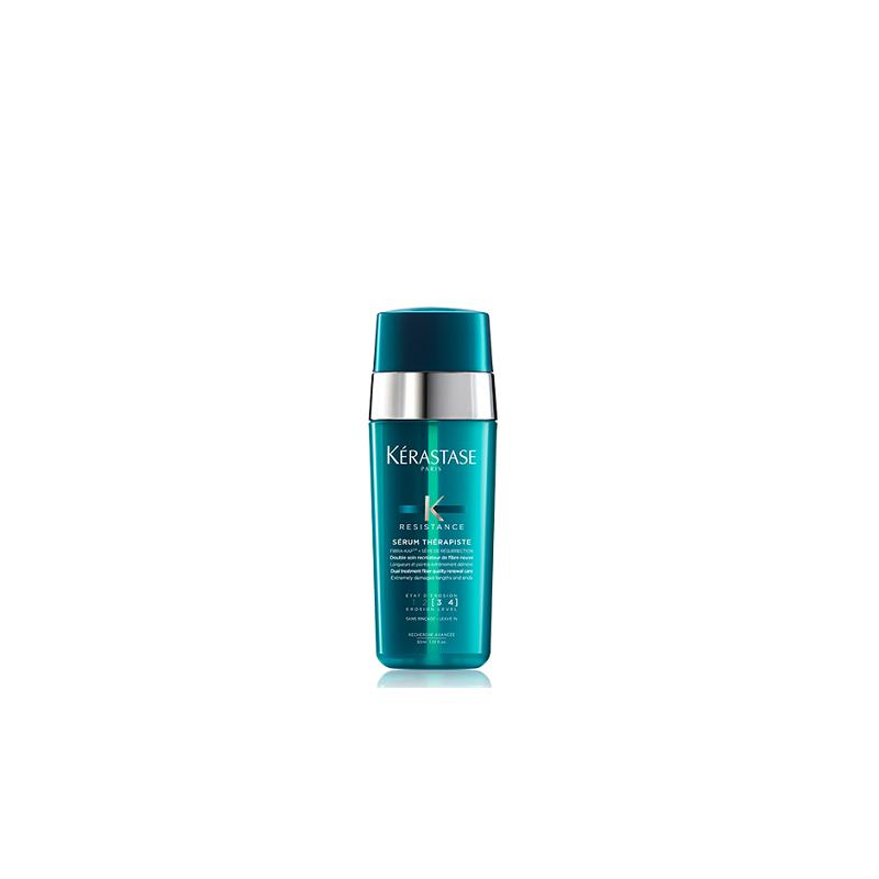 Kerastase Resistance Serum Therapiste dvigubo poveikio serumas labai pažeistiems plaukams (30 ml)