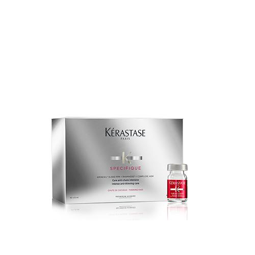 Kerastase Specifique Cure Anti-chute Intensive priežiūros priemonė nuo plaukų slinkimo (6 ml x 10 vnt)