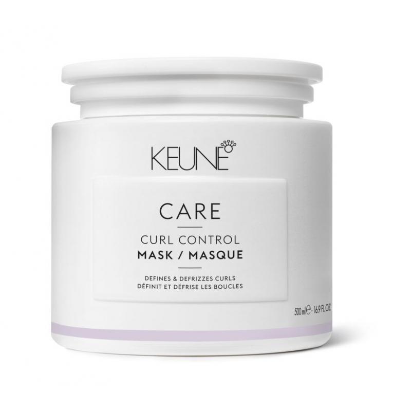 Keune Care Curl Control kaukė sausiems, garbanotiems plaukams (500 ml)