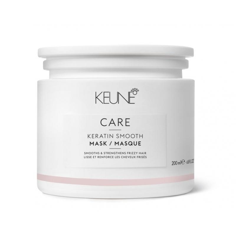 Keune Care Keratin Smooth glotninamoji kaukė plaukams su keratinu (200 ml)