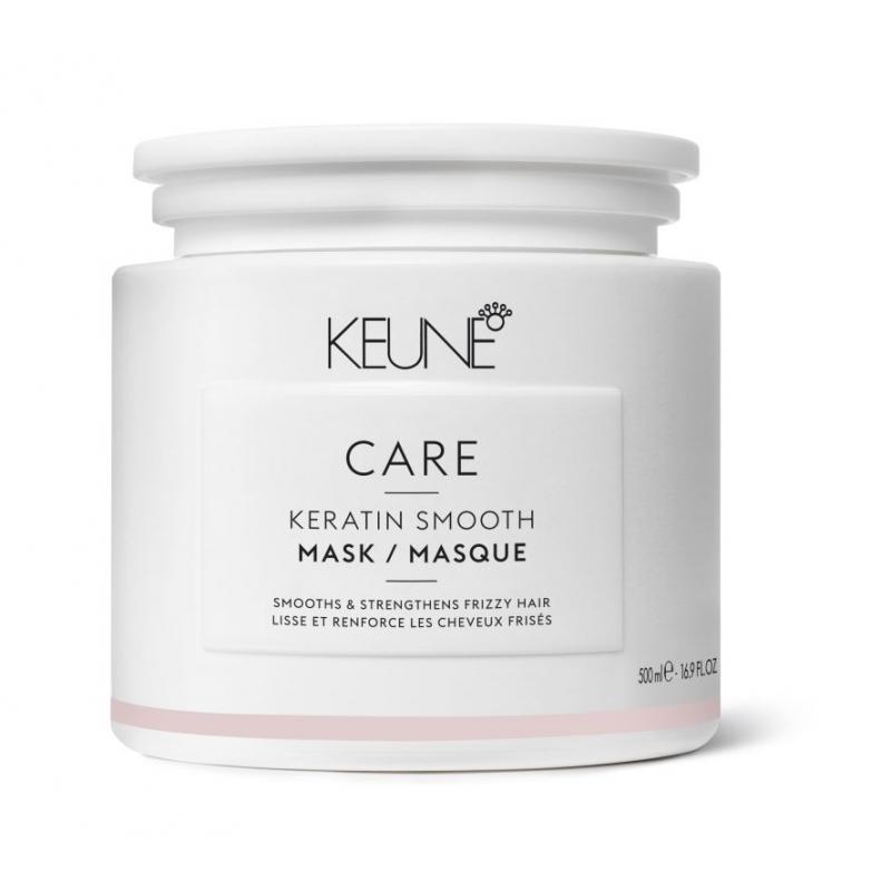 Keune Care Keratin Smooth glotninamoji plaukų kaukė su keratinu (500 ml)