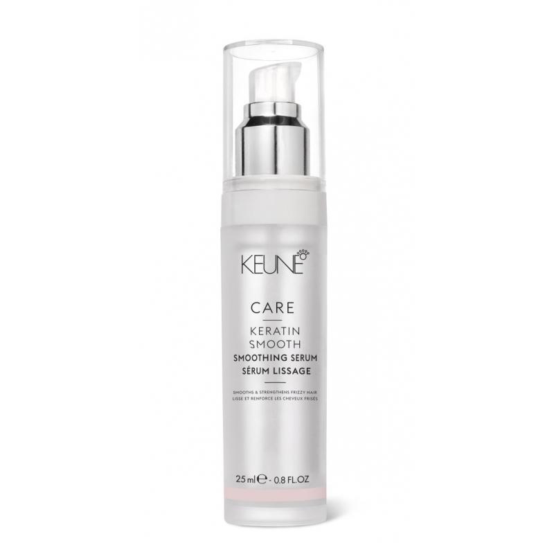 Keune Care Keratin Smooth glotninamasis plaukų serumas su keratinu (25 ml)