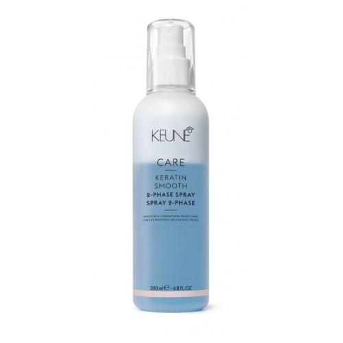 Keune Care Keratin Smooth dviejų fazių purškiklis plaukams su keratinu (200 ml)