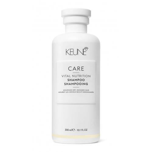 Keune Care Vital Nutrition šampūnas sausiems ir pažeistiems plaukams (300 ml)