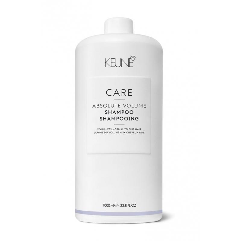 Keune Care Absolute Volume apimtį didinantis šampūnas ploniems plaukams (1000 ml)