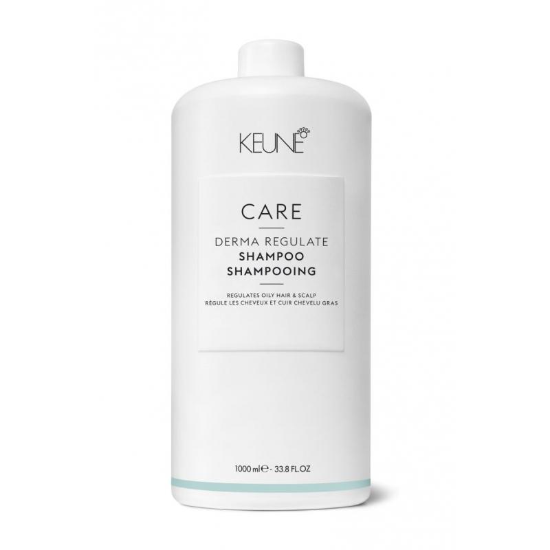 Keune Care Derma Regulate valomasis šampūnas riebiai galvos odai (1000 ml)
