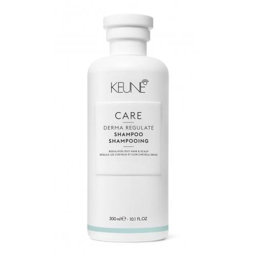 Keune Care Derma Regulate valomasis šampūnas riebiai galvos odai (300 ml)