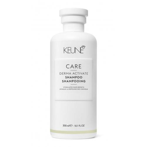Keune Care Derma Activate silpnų ir slenkančių plaukų šampūnas (300 ml)