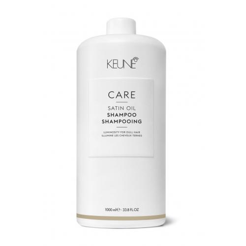 Keune Care Satin Oil šampūnas sausiems ir silpniems plaukams (1000 ml)