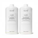 Keune Care Vital Nutrition rinkinys sausų ir pažeistų plaukų priežiūrai (1000 + 1000 ml.) + dozatoriai