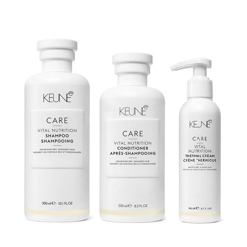 Keune Care Vital Nutrition rinkinys sausiems, pažeistiems plaukams