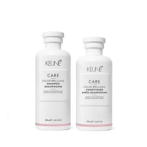 Keune Care Color Brillianz rinkinys dažytų plaukų priežiūrai (300 + 250 ml.)